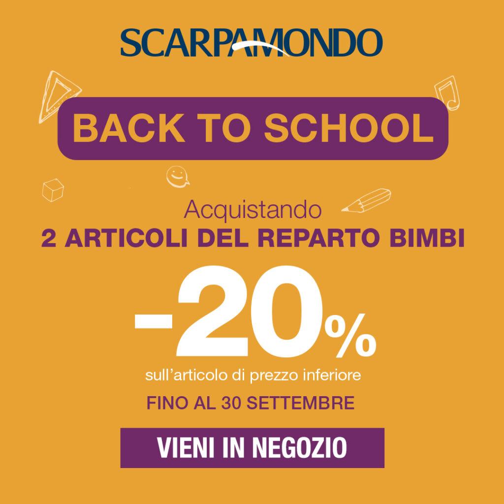 back to school scarpamondo